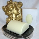 Mayan Gold Soap with Shea Butter Cresent Bath Bar Sylvan lane