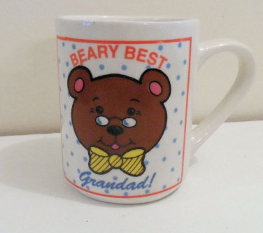 Beary Best Grandad Mug with Shower Gel or Hand Cream