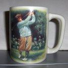 Vintage Golfer Mug with Shower Gel or Hand Cream