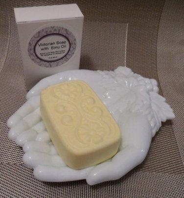 Happy (Type) Scented Emu Oil Soap Victorian Bath Bar Sylvan Lane