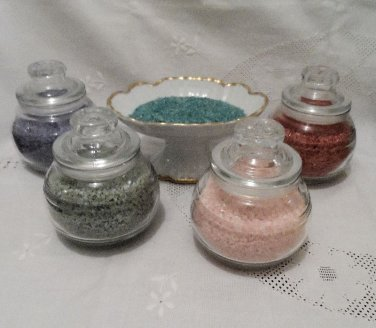 European Spa Salts Choice of Color and Fragrance