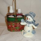 Body Cream and Spray Christmas Basket Set