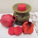 Pomegranate  Soy Wax Tarts 3 Piece Set