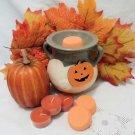 Pumpkin Spice Soy Wax Tarts and Tea Lights Set of 3 Each