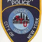 NYPD AUXILIARY POLICE STU SPECIAL TASK UNIT PATCH