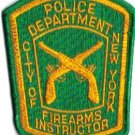 NYPD SPECIAL UNIT Firearms Instructor PATCH