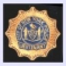 NYPD Lieutenant Shield Badge breast bike shirt patch
