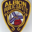 Albion Public Safety Police Shoulder Patch