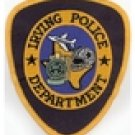 Irving Texas Police Department Cowboys Shoulder patch