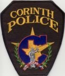 Corinth Texas Police Shoulder Patch