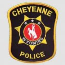 Cheyenne Wyoming Police Shoulder Patch