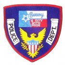 Sweeny Police Department Shoulder Patch-A City With Pride