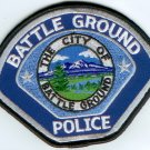 Battle Ground Police Shoulder Patch-Washington State WA