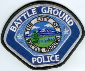 Battle Ground Police Shoulder Patch-Washington State WA