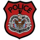 Harrisonburg Police Shoulder patch-Virginia