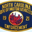North Carolina Division of Motor Vehicles Enforcement Police Patch
