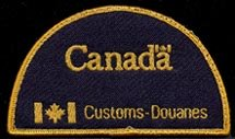 Canada Customs and Revenue Agency Ottawa, ON Patch