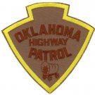 Oklahoma State Police Trooper Shoulder Patch