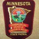 Minnesota State Police Commercial Vehicle Enforcement Trooper Shoulder Patch