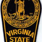 Virginia State Police Trooper Shoulder Patch