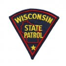 Wisconsin State Patrol Police Trooper Shoulder Patch