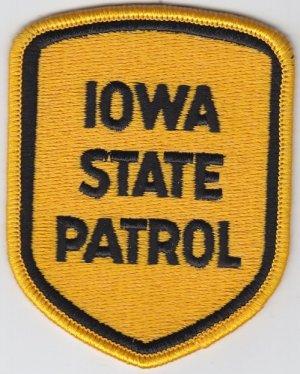 Iowa State Patrol Police Trooper Shoulder Patch