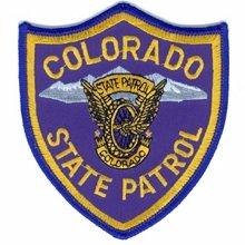 Colorado State Patrol Police Trooper Shoulder Patch