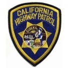 California State Police Patrol Highway Shoulder Patch