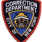 City of New York department of correction shoulder patch