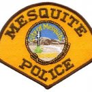 Mesquite police department shoulder patch