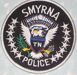 Smyrna police department shoulder patch