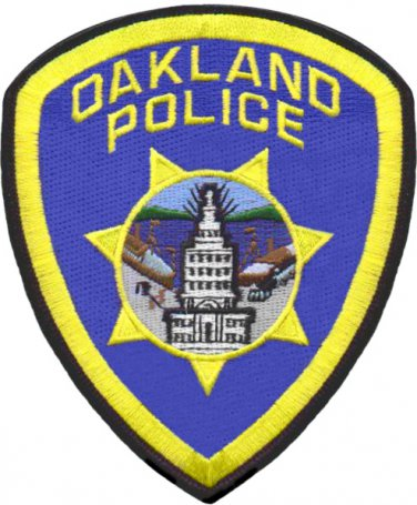 Oakland California Police should patch