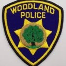 Woodland Police Department uniform shoulder patch