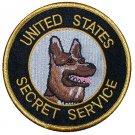 United States Secret Service Police canine K9 department shoulder patch