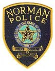 Norman Oklahoma Police department uniform shoulder patch