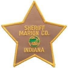 Marion County Indian Sheriffs Department uniform Police shoulder patch