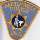Bartlesville Oklahoma Police Department uniform shoulder patch