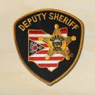 Ohio State Deputy Sheriff sheriffs department police uniform shoulder patch