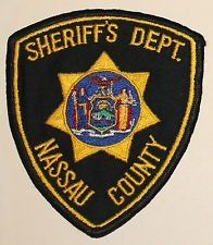 Sheriffs Department Nassau County NY police uniform shoulder patch