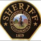 Jefferson County Colorado Sheriffs Department uniform police shoulder patch