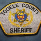 Tooele County Sheriff department sheriffs state of Utah police uniform shoulder patch