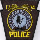 Wilkes Barre Township Police Department Pennsylvania uniform shoulder patch