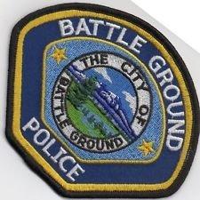 City of Battle Ground Battleground Police Washington department shoulder patch