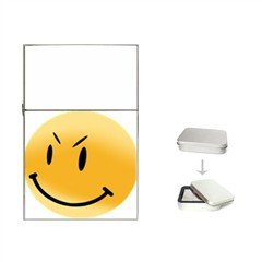 Mean Smiley Flip Top Lighter