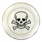 Jolly Roger Porcelain Plate
