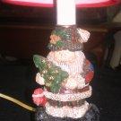 COLLECTIBLE CHRISTMAS SANTA LAMP! NEW!