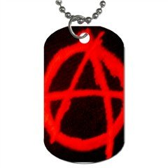 Anarchy 015 Dog Tag (Two Sides)