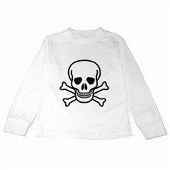 Jolly Roger Kids Long Sleeve T-Shirt