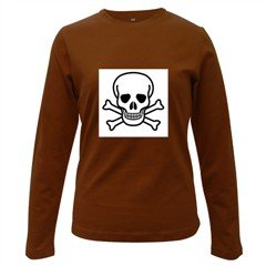 Jolly Roger Women's Long Sleeve Dark T-Shirt