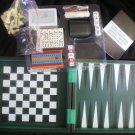 CHESS BACKGAMMON CHECKERS BOX SET NEW!